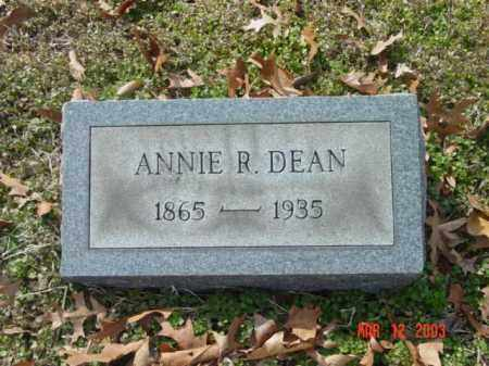 DEAN, ANNIE R. - Talbot County, Maryland | ANNIE R. DEAN - Maryland Gravestone Photos