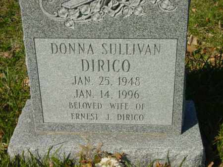DIRICO, DONNA SULLIVAN - Talbot County, Maryland | DONNA SULLIVAN DIRICO - Maryland Gravestone Photos