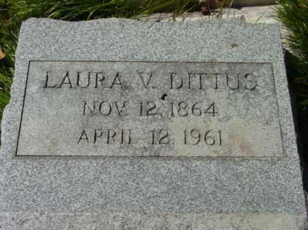 DITTUS, LAURA V. - Talbot County, Maryland | LAURA V. DITTUS - Maryland Gravestone Photos