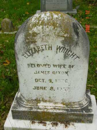 DIXON, ELIZABETH - Talbot County, Maryland | ELIZABETH DIXON - Maryland Gravestone Photos