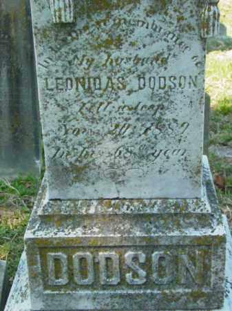 DODSON, LEONIDAS - Talbot County, Maryland | LEONIDAS DODSON - Maryland Gravestone Photos