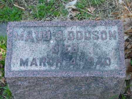 DODSON, MAUD - Talbot County, Maryland | MAUD DODSON - Maryland Gravestone Photos