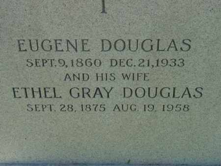 DOUGLAS, EUGENE - Talbot County, Maryland   EUGENE DOUGLAS - Maryland Gravestone Photos