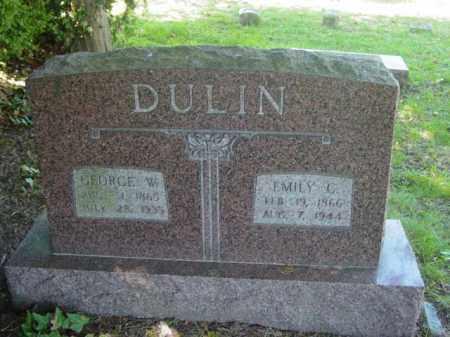 DULIN, EMILY C. - Talbot County, Maryland | EMILY C. DULIN - Maryland Gravestone Photos