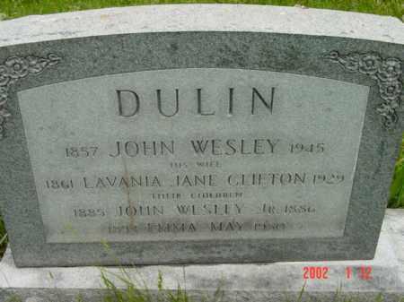 DULIN, EMMA MAY - Talbot County, Maryland | EMMA MAY DULIN - Maryland Gravestone Photos