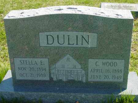 DULIN, STELLA E. - Talbot County, Maryland | STELLA E. DULIN - Maryland Gravestone Photos