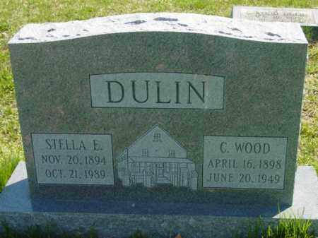 DULIN, C. WOOD - Talbot County, Maryland | C. WOOD DULIN - Maryland Gravestone Photos