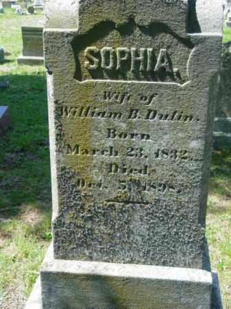 DULIN, SOPHIA - Talbot County, Maryland | SOPHIA DULIN - Maryland Gravestone Photos