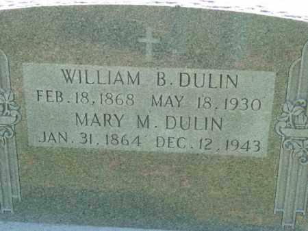 DULIN, MARY M. - Talbot County, Maryland   MARY M. DULIN - Maryland Gravestone Photos