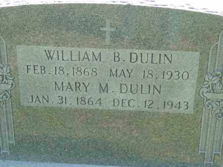 DULIN, WILLIAM B. - Talbot County, Maryland | WILLIAM B. DULIN - Maryland Gravestone Photos