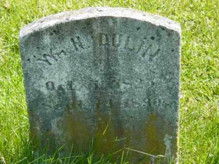 DULIN, WILLIAM H. - Talbot County, Maryland   WILLIAM H. DULIN - Maryland Gravestone Photos