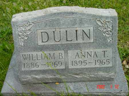 DULIN, WILLIAM B. - Talbot County, Maryland | WILLIAM B. DULIN - Maryland Gravestone Photos