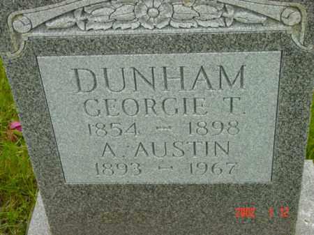 DUNHAM, A. AUSTIN - Talbot County, Maryland | A. AUSTIN DUNHAM - Maryland Gravestone Photos