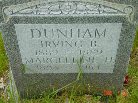 DUNHAM, MARCELLINE H. - Talbot County, Maryland | MARCELLINE H. DUNHAM - Maryland Gravestone Photos