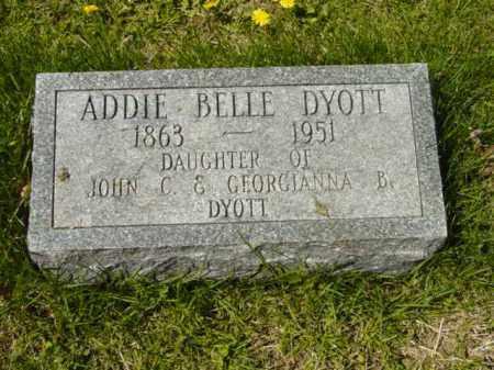 DYOTT, ADDIE BELLE - Talbot County, Maryland | ADDIE BELLE DYOTT - Maryland Gravestone Photos
