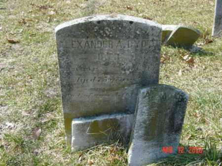 DYOTT, ALEXANDER A. - Talbot County, Maryland   ALEXANDER A. DYOTT - Maryland Gravestone Photos