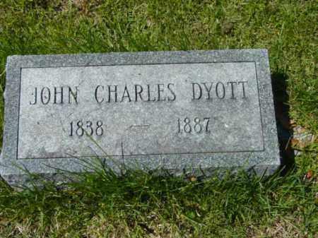 DYOTT, JOHN CHARLES - Talbot County, Maryland | JOHN CHARLES DYOTT - Maryland Gravestone Photos