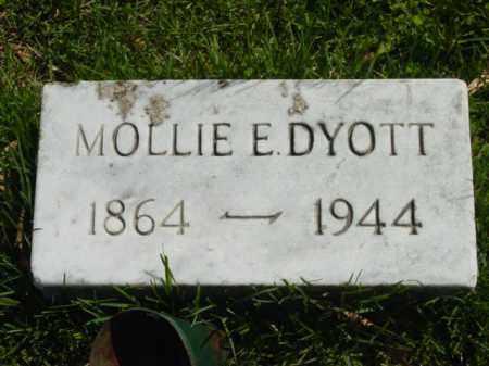 DYOTT, MOLLIE E. - Talbot County, Maryland | MOLLIE E. DYOTT - Maryland Gravestone Photos