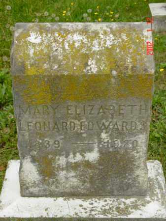 EDWARDS, MARY ELIZABETH - Talbot County, Maryland   MARY ELIZABETH EDWARDS - Maryland Gravestone Photos