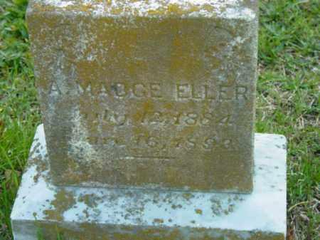 ELLER, A. MADGE - Talbot County, Maryland | A. MADGE ELLER - Maryland Gravestone Photos