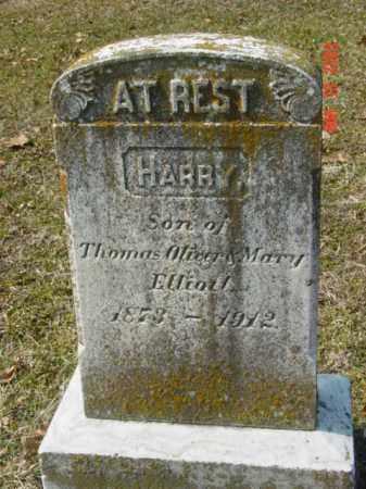 ELLIOTT, HARRY - Talbot County, Maryland | HARRY ELLIOTT - Maryland Gravestone Photos