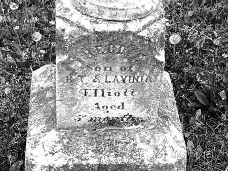 ELLIOTT, INFANT - Talbot County, Maryland | INFANT ELLIOTT - Maryland Gravestone Photos