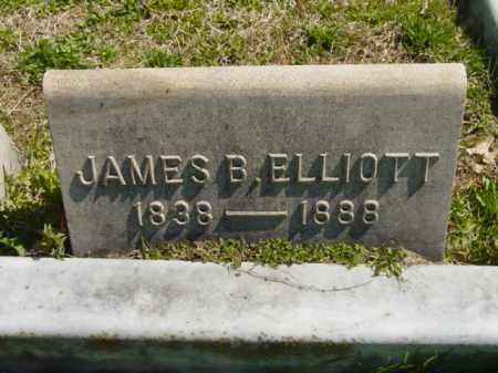 ELLIOTT, JAMES B. - Talbot County, Maryland   JAMES B. ELLIOTT - Maryland Gravestone Photos
