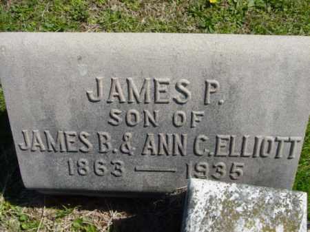 ELLIOTT, JAMES P. - Talbot County, Maryland | JAMES P. ELLIOTT - Maryland Gravestone Photos