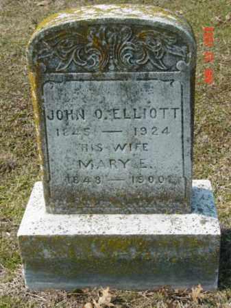 ELLIOTT, JOHN O. - Talbot County, Maryland | JOHN O. ELLIOTT - Maryland Gravestone Photos