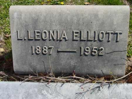 ELLIOTT, L. LEONIA - Talbot County, Maryland   L. LEONIA ELLIOTT - Maryland Gravestone Photos