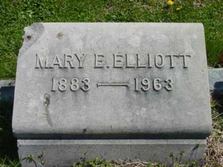 ELLIOTT, MARY E. - Talbot County, Maryland | MARY E. ELLIOTT - Maryland Gravestone Photos
