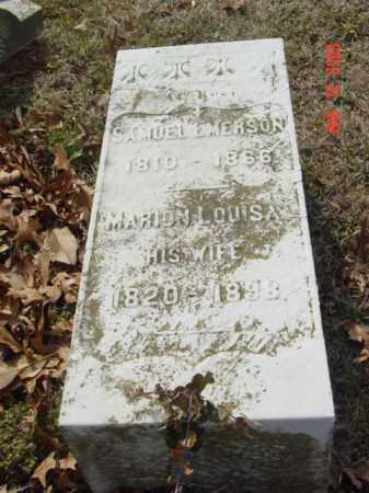 EMERSON, SAMUEL - Talbot County, Maryland | SAMUEL EMERSON - Maryland Gravestone Photos