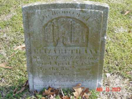 EWING, ELIAZABETH ANN - Talbot County, Maryland   ELIAZABETH ANN EWING - Maryland Gravestone Photos