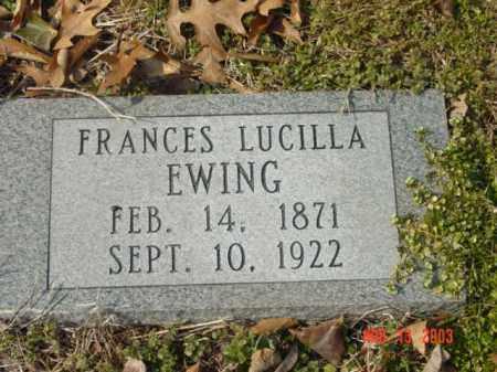EWING, FRANCES LUCILLA - Talbot County, Maryland | FRANCES LUCILLA EWING - Maryland Gravestone Photos