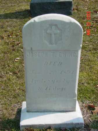 EWING, JOSEPH T. - Talbot County, Maryland | JOSEPH T. EWING - Maryland Gravestone Photos