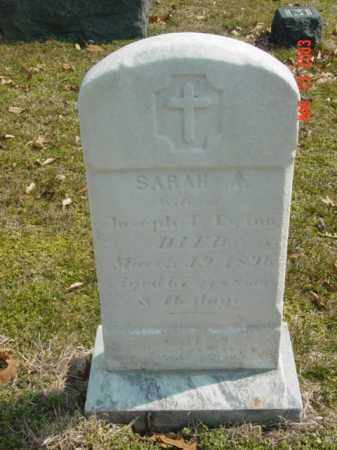 EWING, SARAH A. - Talbot County, Maryland | SARAH A. EWING - Maryland Gravestone Photos