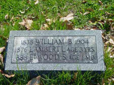 EWING, WILLIAM B. - Talbot County, Maryland | WILLIAM B. EWING - Maryland Gravestone Photos
