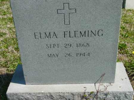 FLEMING, ELMA - Talbot County, Maryland   ELMA FLEMING - Maryland Gravestone Photos