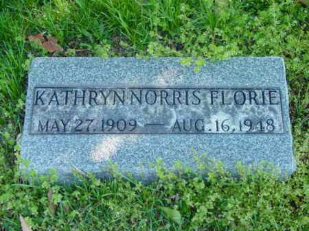 FLORIE, KATHRYN NORRIS - Talbot County, Maryland | KATHRYN NORRIS FLORIE - Maryland Gravestone Photos