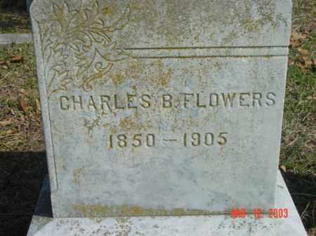 FLOWERS, CHARLES B. - Talbot County, Maryland   CHARLES B. FLOWERS - Maryland Gravestone Photos
