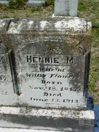 FLOWERS, HENNIE M. - Talbot County, Maryland   HENNIE M. FLOWERS - Maryland Gravestone Photos