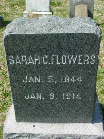 FLOWERS, SARAH C. - Talbot County, Maryland   SARAH C. FLOWERS - Maryland Gravestone Photos