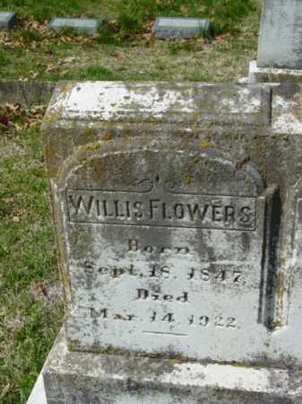 FLOWERS, WILLIS - Talbot County, Maryland | WILLIS FLOWERS - Maryland Gravestone Photos