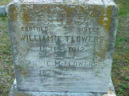 FLOWERS, WILLIAM E. - Talbot County, Maryland | WILLIAM E. FLOWERS - Maryland Gravestone Photos