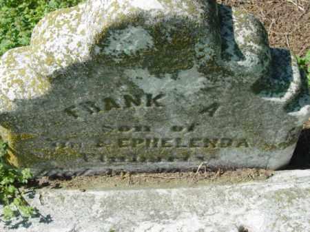 FLUHARTY, FRANK A. - Talbot County, Maryland | FRANK A. FLUHARTY - Maryland Gravestone Photos