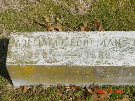 FOREMAN, WILLIAM F. - Talbot County, Maryland | WILLIAM F. FOREMAN - Maryland Gravestone Photos