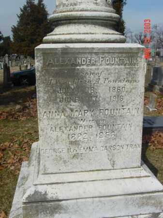 FOUNTAIN, ANNA MARY - Talbot County, Maryland | ANNA MARY FOUNTAIN - Maryland Gravestone Photos