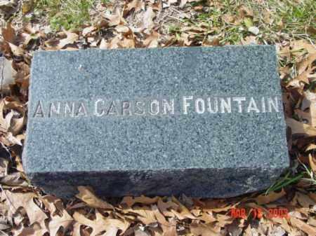 FOUNTAIN, ANNA CARSON - Talbot County, Maryland   ANNA CARSON FOUNTAIN - Maryland Gravestone Photos