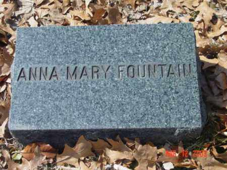 FOUNTAIN, ANNA MARY - Talbot County, Maryland | ANNA MARY FOUNTAIN - Maryland Gravestone Photos