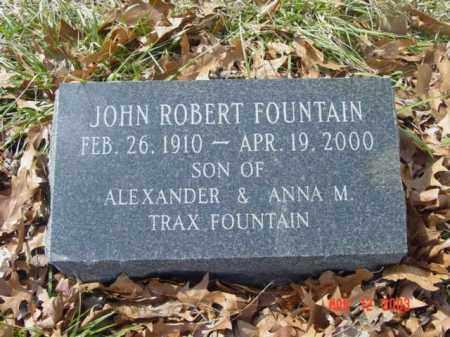 FOUNTAIN, JOHN ROBERT - Talbot County, Maryland | JOHN ROBERT FOUNTAIN - Maryland Gravestone Photos